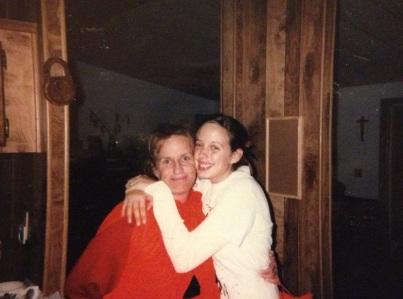 Mom and I Halloween 2006